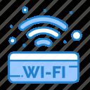 public, sign, signal, wifi icon