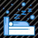 night, sleep, sleeping icon