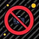 camera, image, no, photography icon