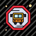 bus, public, transit icon