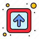 arrow, forward, public, signs