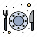 food, hotel, restaurant icon