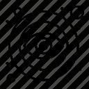 eye, open, public, visible icon