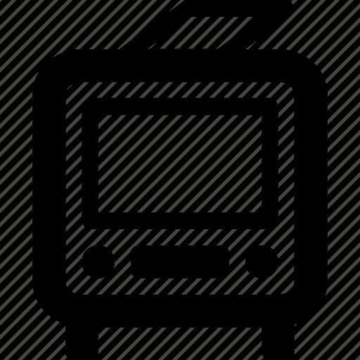 trolley, trolleybus icon