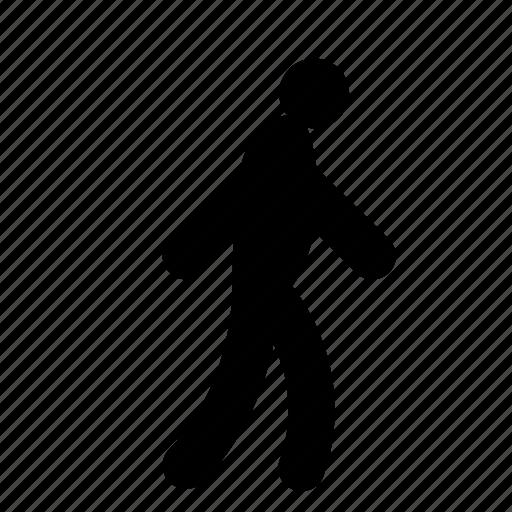 pedestrian, person icon