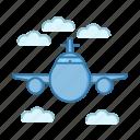 flight, plane, transportation, travel