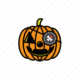 avatars, halloween, pirate, pumpkin, scary icon