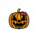 avatars, halloween, pumpkin, brain, face, scary