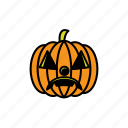 avatars, halloween, pumpkin, face, sad, scary