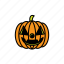 avatars, halloween, pumpkin, face, scary