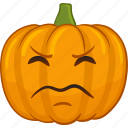 emoji, emoticon, face, jackolantern, pumpkin, smiley icon