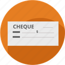 buy, cash, cheque, document, mercadolibre, money, payment icon