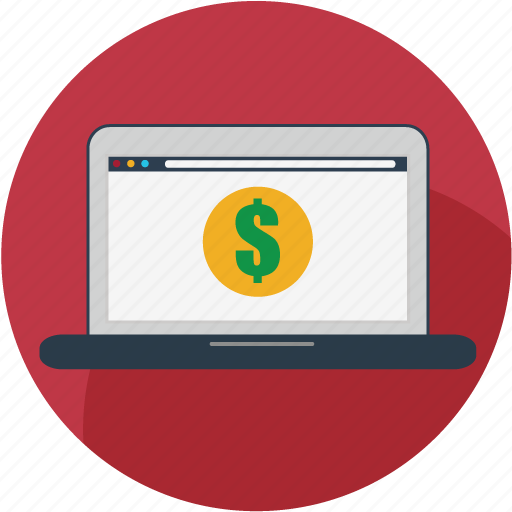 buy, laptop, online, seo, store, webshop, webstore icon