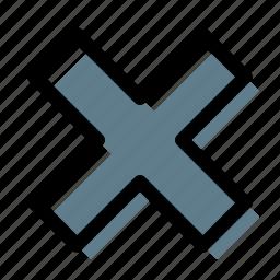 close, cross, delete, drop, hide, not found, remove icon
