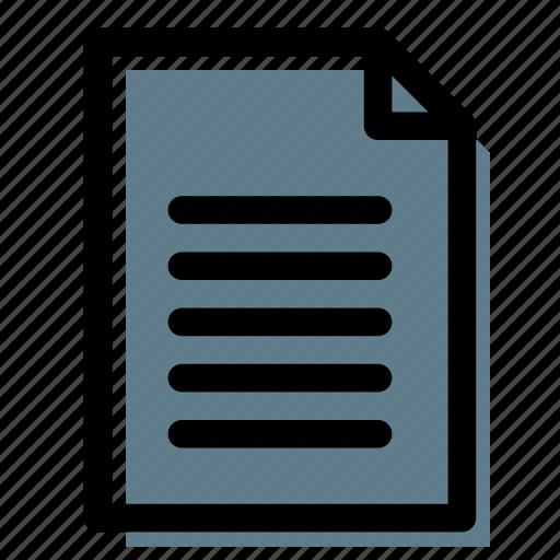 description, document, file, text icon