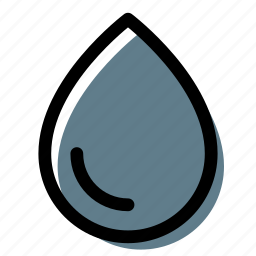 drop, liquid, water, water drop icon