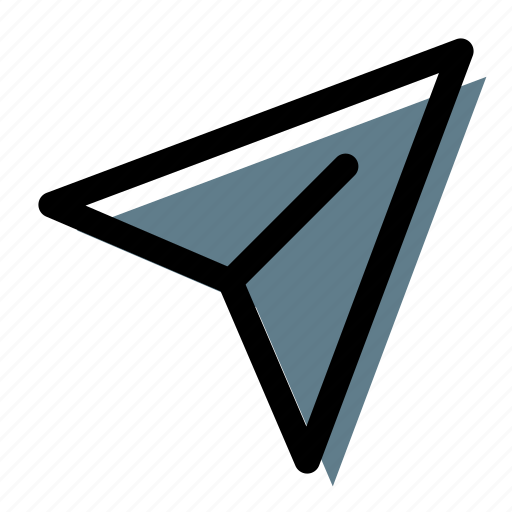 message, paper, plane, reply, send, submit icon