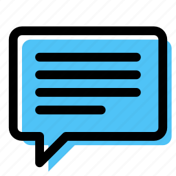 balloon, chat, conversation, message, speech bubble, text, tooltip icon