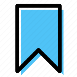 badge, banner, bookmark, favorite, ribbon icon