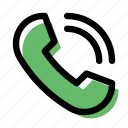 call, calling, phone, phone call, telephone icon