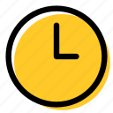 clock, day, event, time, working hours