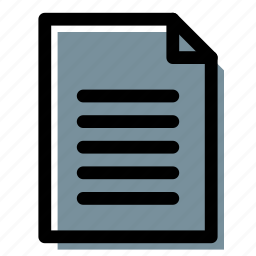 agreement, description, document, file, text icon