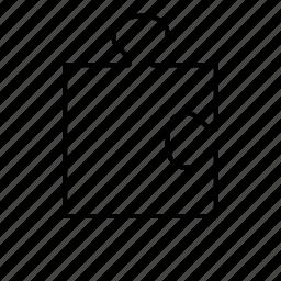 corner, piece, puzzle, puzzle piece icon
