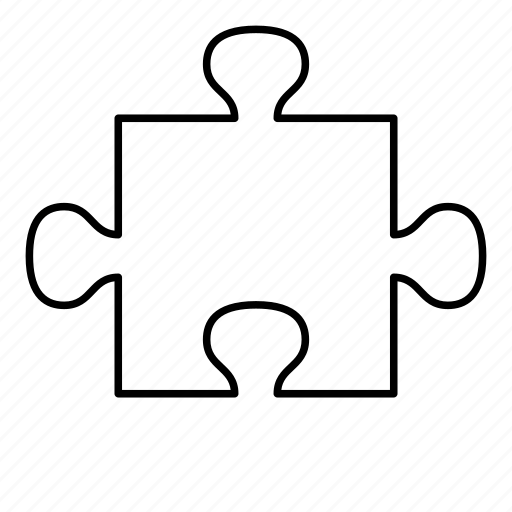 piece, puzzle, puzzle piece icon