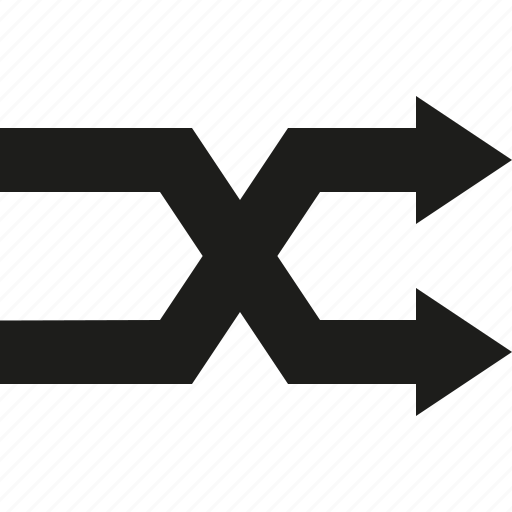 arrow, random icon