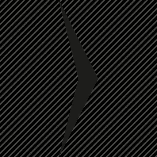 arrow, right, simple icon