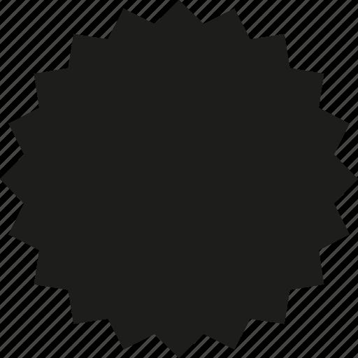 badge, circle icon