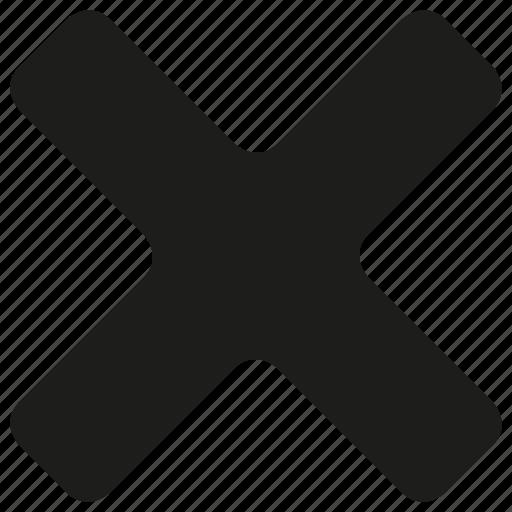 close, round icon
