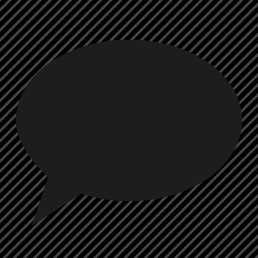 comment, single icon