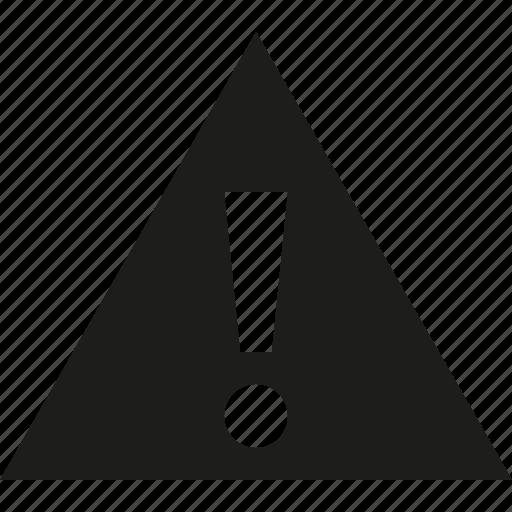 danger, triangle icon