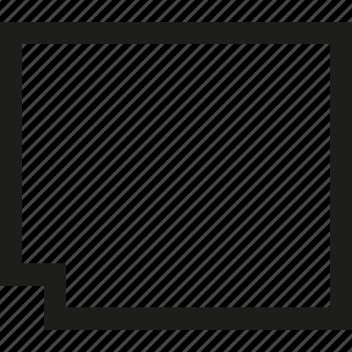 document, horizontal icon