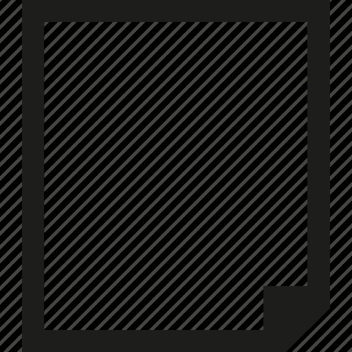 document, vertical icon