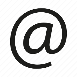 email, single icon