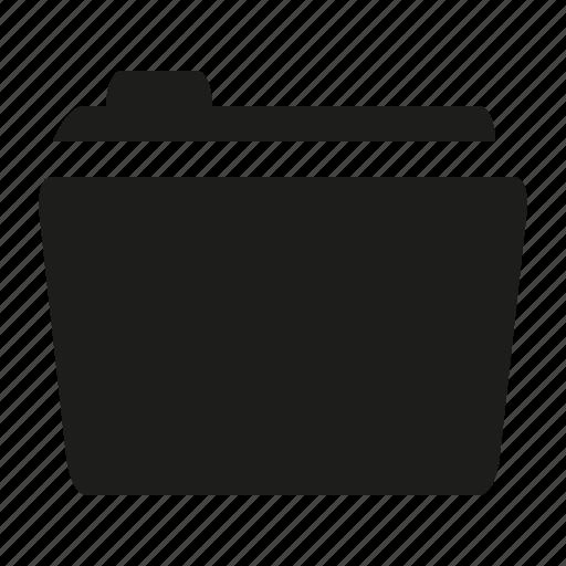 close, folder, round icon