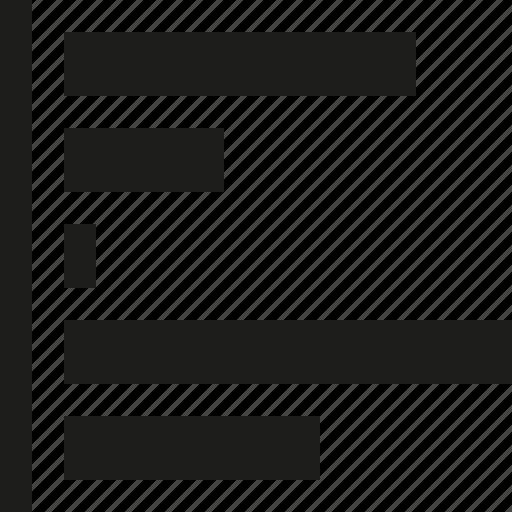 graphs, line icon