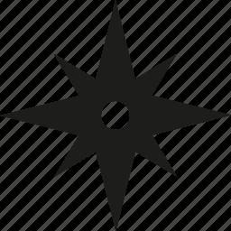 ninja, star icon