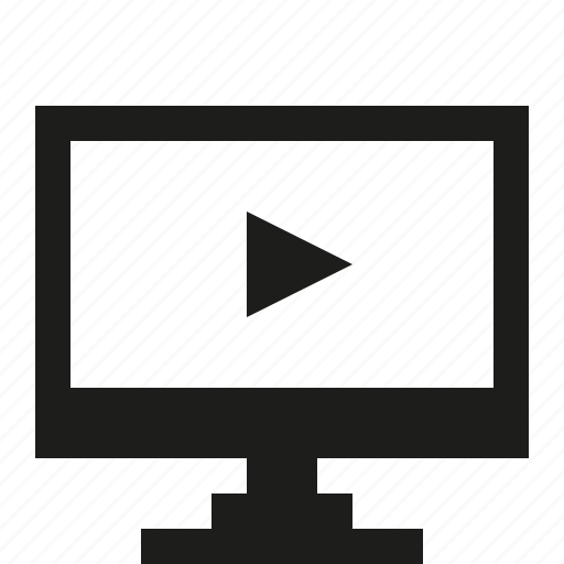 pc, video icon