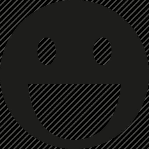 Smile, happy icon - Download on Iconfinder on Iconfinder