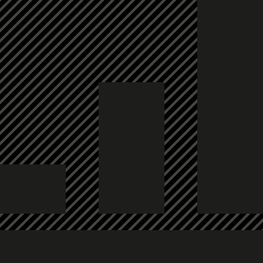 bar, inver, statistics icon