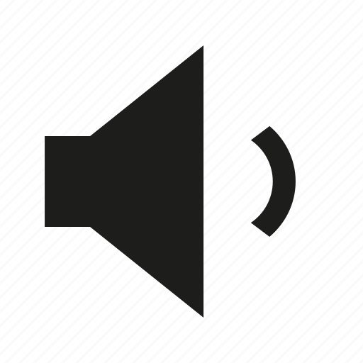 min, volume icon