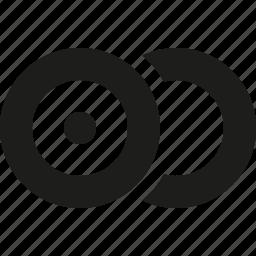 double, rec icon