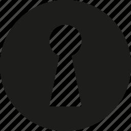 key, sign icon