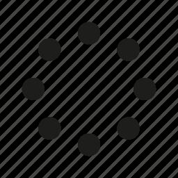 circle, load icon