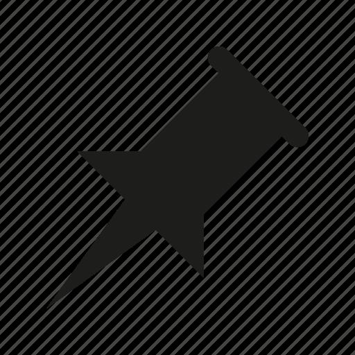 deck, oblique, pin icon