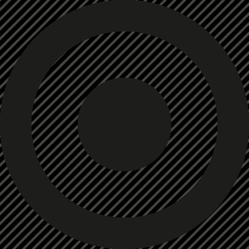 circle, rec icon
