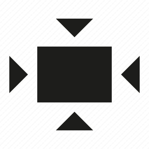 all, contrat, viewport icon